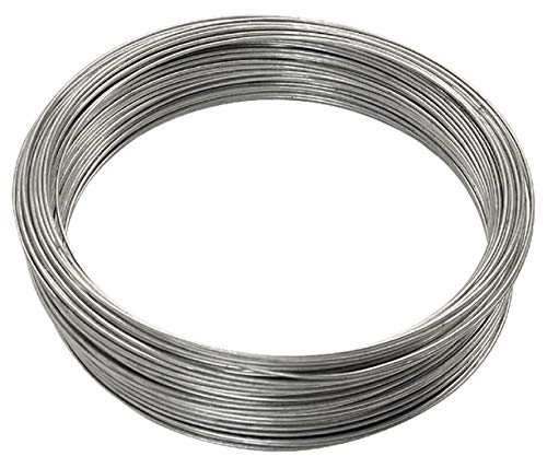 OOK 50143 16 Gauge - 200 ft Galvanized Steel Wire, 1 Pack