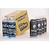 AutoFullCar - Pack Sprays Full Dip Negro Metalizado Super Brillo Vinilo líquido | FullDip Plastidip