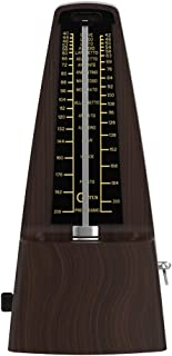 CANTUS Mechanical Metronome Wood Grained Loud Sound/High Precision/No batteries Needed/for Piano/Guitar/Violin/Drum and Other Instruments (Tower design)