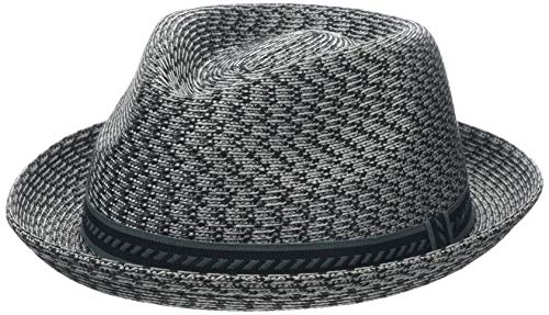 Bailey Mannes Trilby Hat, Gris (Charcoal Multi), Large Homme