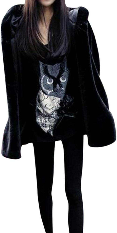BCDshop Coat Women Winter, New Ladies Warm Faux Fur Coat Jacket Parka Outerwear Plus