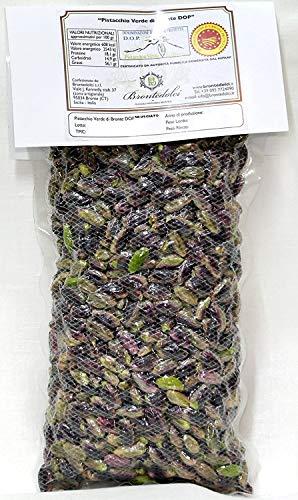 'Pistacchio Verde di Bronte DOP' - Sgusciato al Naturale - Confezione Sottovuoto 1Kg