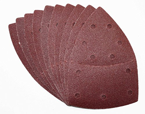 25 Stück Klett-Schleifblätter 105x152 mm Korn 180 für Multischleifer Bosch Prio, Ventaro