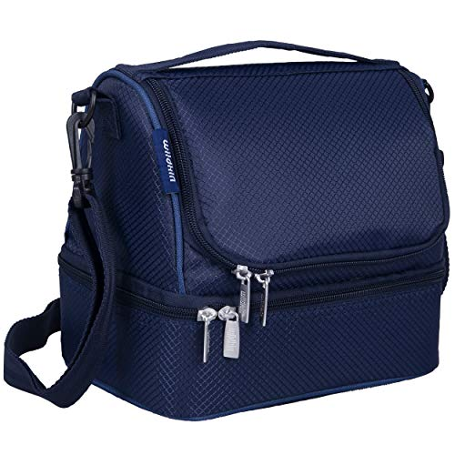 Wildkin Two Compartment Insulated Lunch Bag for Boys And Girls,...