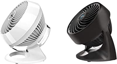 Vornado 460 Small Whole Room Air Circulator Fan with 3 Speeds, 460-Small, White & 133 Compact Air Circulator Fan