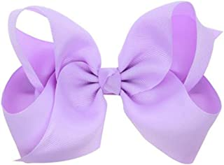 light purple hair bow