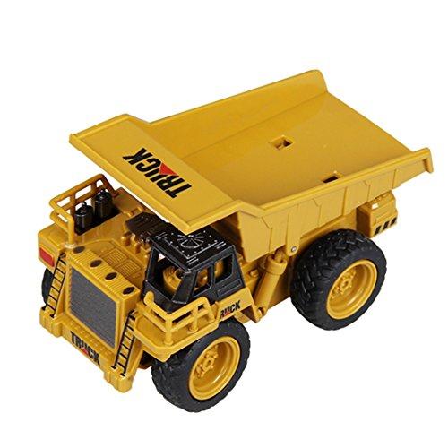 RC LKW kaufen LKW Bild 1: GUOGUO RC Truck 1:16 Mini Baustelle Spielzeug Baufahrzeuge Ferngesteuert für Kinder (Gabelstapler)*