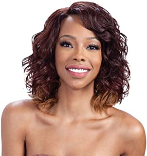 Model Model Synthetic Lace Front Deep Invisible L Part Wig - Honey Meadow-OM203