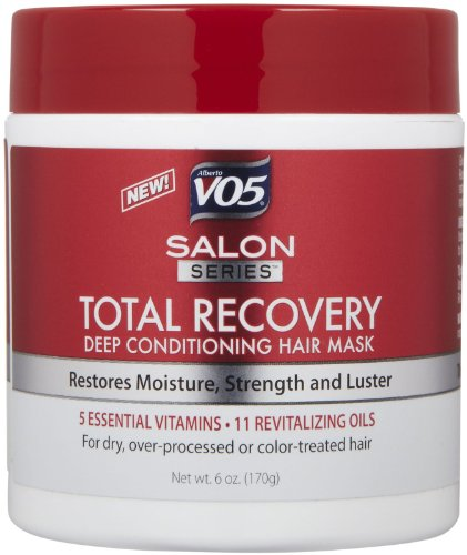 VO5 Salon Series Total Recovery Deep Cleansing Hair Mask, 6 oz