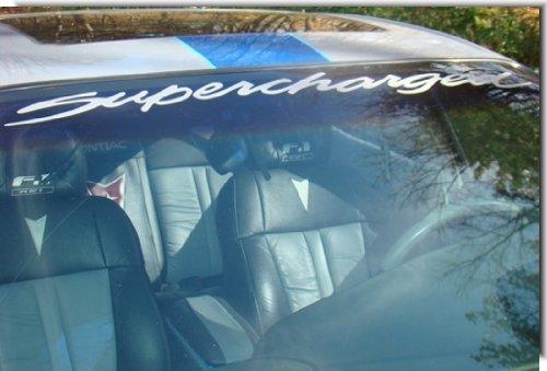 supercharged pontiac sticker - 2