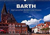 Barth - Idyll zwischen Bodden und Ostsee (Wandkalender 2022 DIN A3 quer): Barth - Urspruengliche Schoenheit in der Boddenlandschaft (Monatskalender, 14 Seiten )