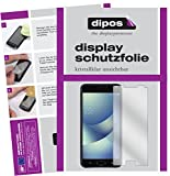 dipos I 2X Schutzfolie klar kompatibel mit Asus Zenfone 4 Max 5,2 Zoll ZC520KL Folie Bildschirmschutzfolie