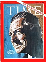 Time Magazine January 17 1969  Italy: Industrialists as Heroes   Fiat's Giovanni Agnelli