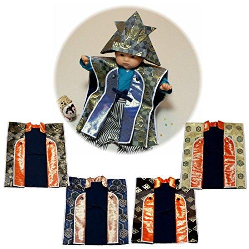 『えくぼちゃん(ekubochan)日本製 京都伝統金襴 陣羽織 (は柄)』のトップ画像