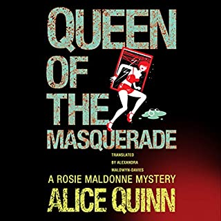 Queen of the Masquerade audiobook cover art
