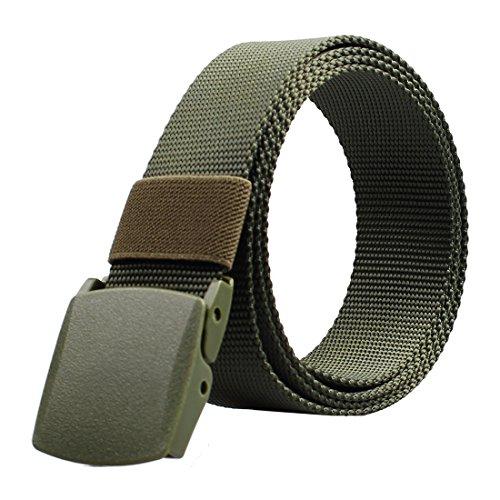 ALAIX - Cinturón - para hombre rojo verde oliva large