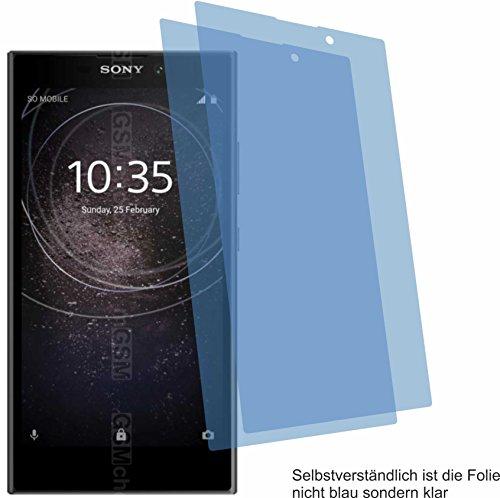 4ProTec I 2X ANTIREFLEX matt Schutzfolie für Sony Xperia L2 Bildschirmschutzfolie Displayschutzfolie Schutzhülle Bildschirmschutz Bildschirmfolie Folie