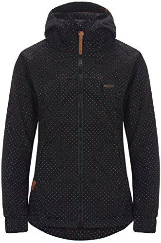 alife & kickin Black Mamba Jacket Damen Übergangsjacke, Moonless Dots, XS