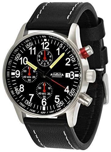 Astroavia N97L3 Reloj cronógrafo de cuarzo para hombre...