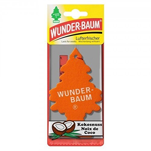 Preisvergleich Produktbild Wunder-Baum Lufterfrischer Duftbaum Kokosnuss