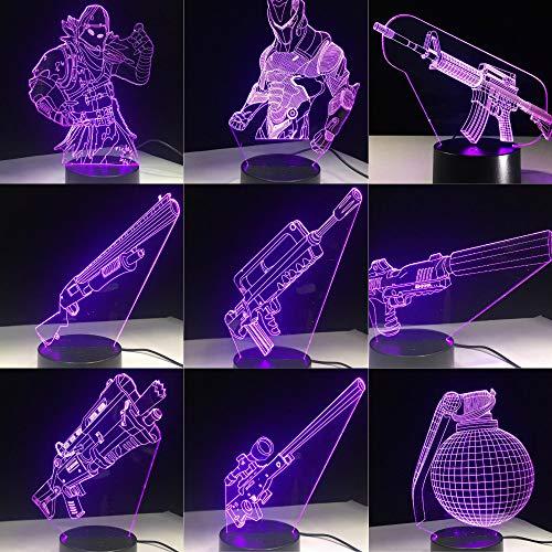 Lama Krug Narbe Standard Mädchen Lava Acryl Fans Nachtlicht 3D LED Tischlampe Kinder Geburtstagsgeschenk Nachtzimmer Dekoration