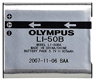 Olympus LI-50B Rechargeable Li-Ion Battery for Select Olympus Cameras - Retail Packaging (B00160MV8W)   Amazon price tracker / tracking, Amazon price history charts, Amazon price watches, Amazon price drop alerts