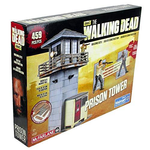 The Walking Dead Building Set -Prison Tower & Gate [Edizione: Germania]