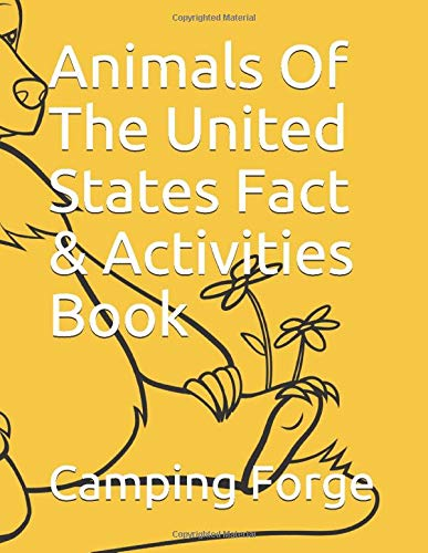Animals Of The United States Fact & Activities Book