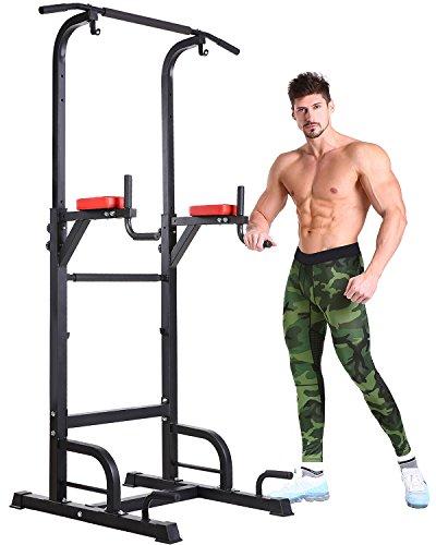 BangTong&Li ぶら下がり健康器 懸垂マシーン 耐荷重150kg 懸垂 器具 筋肉トレーニング 背筋 腹筋 大胸筋