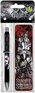 Trends International Suicide Squad Gel Pen + Bookmark Pack