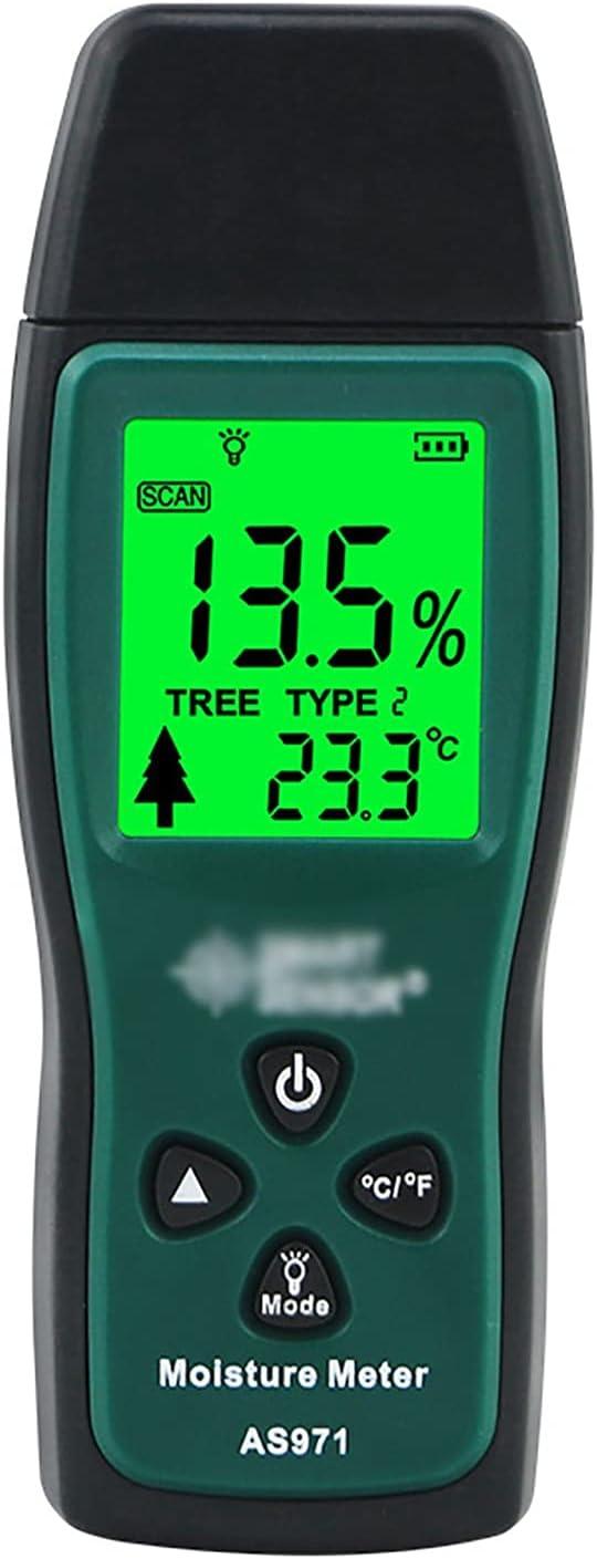 QERNTPEY Wood Moisture Meter Tester Handheld Challenge the lowest price of Japan ☆ Moist Discount is also underway