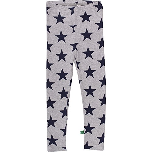 Fred'S World By Green Cotton Star Leggings Baby, Gris (Pale Greymarl 207670000), 9 Mois Bébé Fille