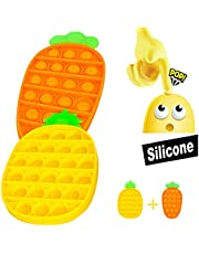 MMTX Pops it Bubble Sensory Fidget Push Toy, Stress Relief Giocattoli per Autismo Special Needs, Giocattoli Educativi Estrusione per Bambini Adolescenti Adulti, Fidget Sensory Toys Squeeze Toys Regalo