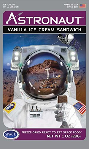 Astronaut Ice Cream Sandwhich Freeze-Dried Ready to Eat by AOP [Foods]