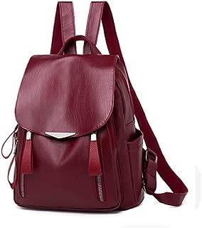 Kuang Women's Fashion Backpack Purse Anti-theft Travel Casual Shoulder Bag Waterproof Handbag for Ladies