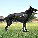 Xdog Gewicht Weste für Hunde, Stabiler Übung Hund Weste um mit Fettleibigkeit, Angst und...
