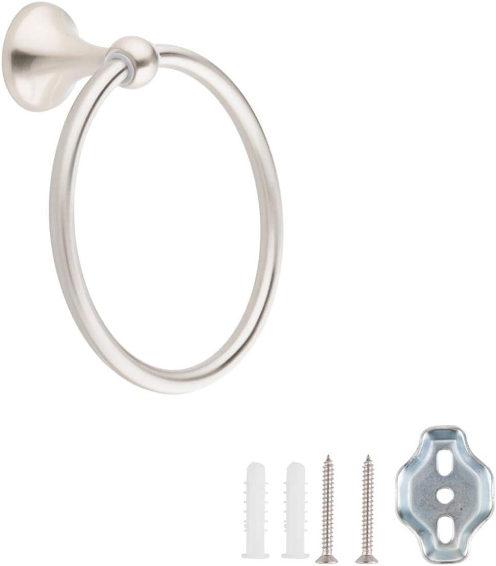 Amazon Basics AB-BR836-SN Toallero de anilla, níquel satinado