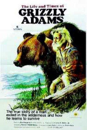 Grizzly Adams Dan Haggerty Original Movie Poster