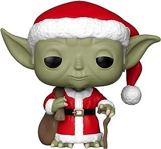 Funko Pop Star Wars: Holiday - Santa Yoda Collectible Figure, Multicolor