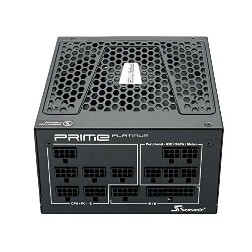Seasonic 24324 - Seasonic PRIME Platinum 750, Alimentatore ATX Modulare da 750W, nero