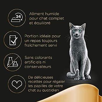 Sheba Délices du Jour – Nourriture humide pour chat adulte - sélection aux poissons en gelée – Sachets fraîcheur 72 x 50g