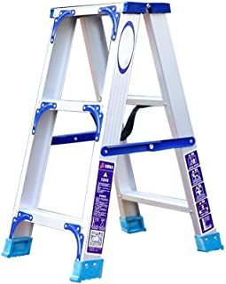 Herringbone Movable Aluminum Alloy Foldable Ascending Ladder Outdoor Engineering Ladder Stairs (Size : Reinforcement)