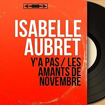 Y'a pas / Les amants de novembre (feat. Jean-Michel Defaye et son orchestre) [Mono Version]