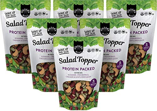 Modern Mill Protein Packed Salad Topper, Gluten-Free, Non-GMO, Gluten-Free, Vegan, Keto-Friendly, 6oz (Pack of 6)