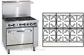imperial 6 burner stove with convection oven