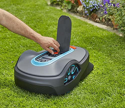 Gardena 15101-41 SILENO Life 8073 sq ft Robotic Lawn Mower, Grey