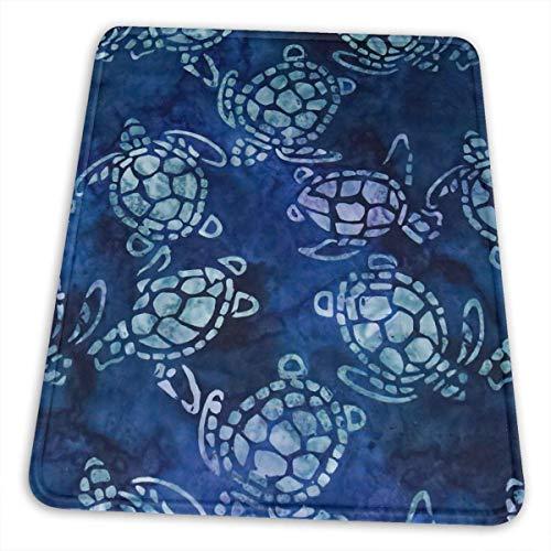 Mousepad Meeresschildkröte Wasserschildkröte Schwimmen Maus Matte Rutschfeste Gaming Mauspad 4 Größen Büro Benutzerdefinierte Schlafsaal Gummi Rechteck Dekorativ Für Schreibtisch L 25X30cm
