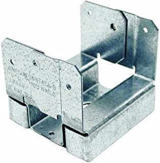 Simpson Strong Tie ABA44Z ZMAX Galvanized 16-Gauge 4x4 Adjustable Post Base 20-per Box
