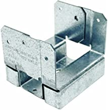 Simpson Strong Tie ABA44Z ZMAX Galvanized 16-Gauge 4x4 Adjustable Post Base 20-per Box