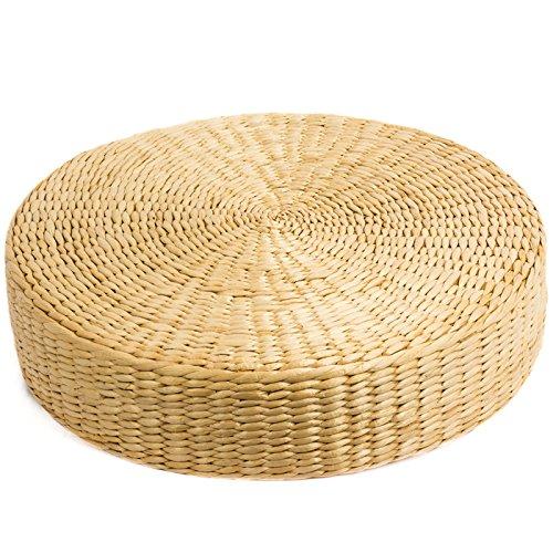 Wu designs Meditation - zitkussen - yogakussen - bamboe - meditatiekussen